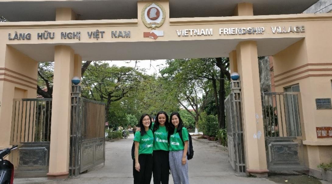 Kathryn A in Vietnam